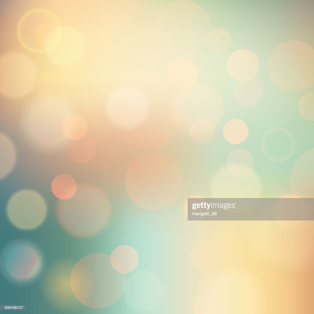 Vector Soft colored abstract summer light  background for design