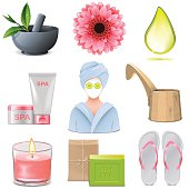 Vector SPA Icons Set 1