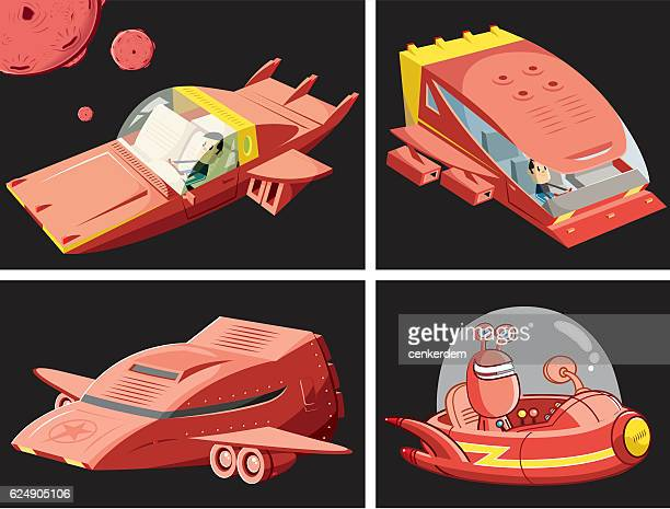 Vector space ship set