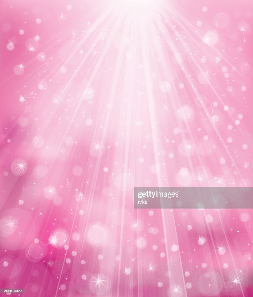 Vector sparkle pink background.