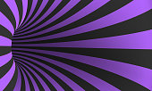 Vector Spiral Optical Illusion Template