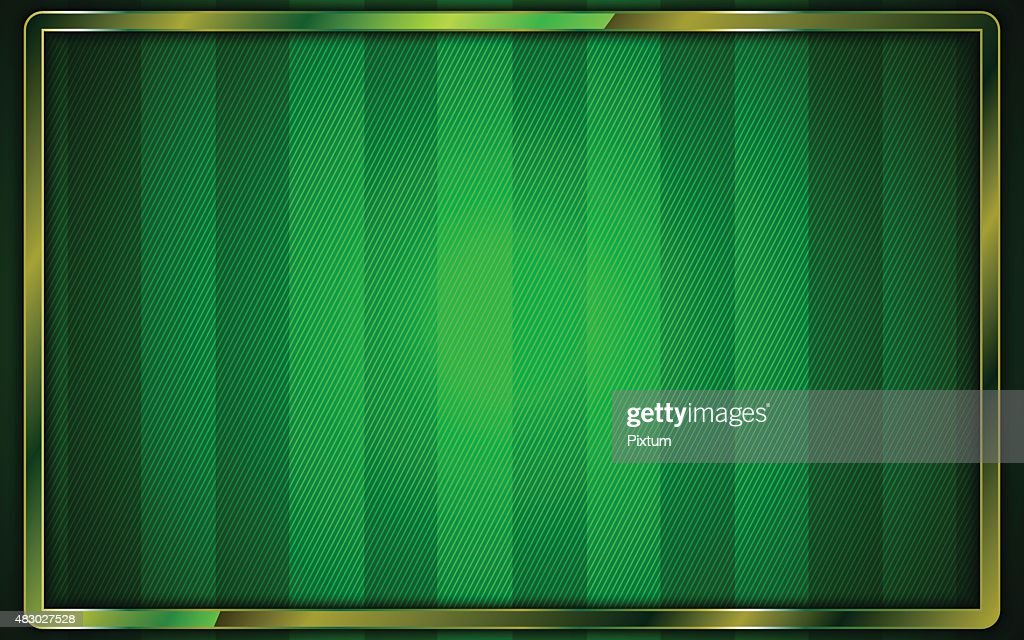 vector sports green field stadium match background