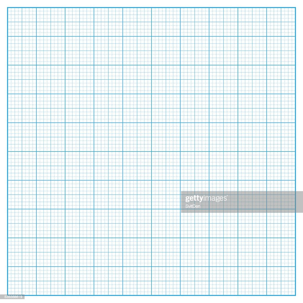 Vector square inch grid background