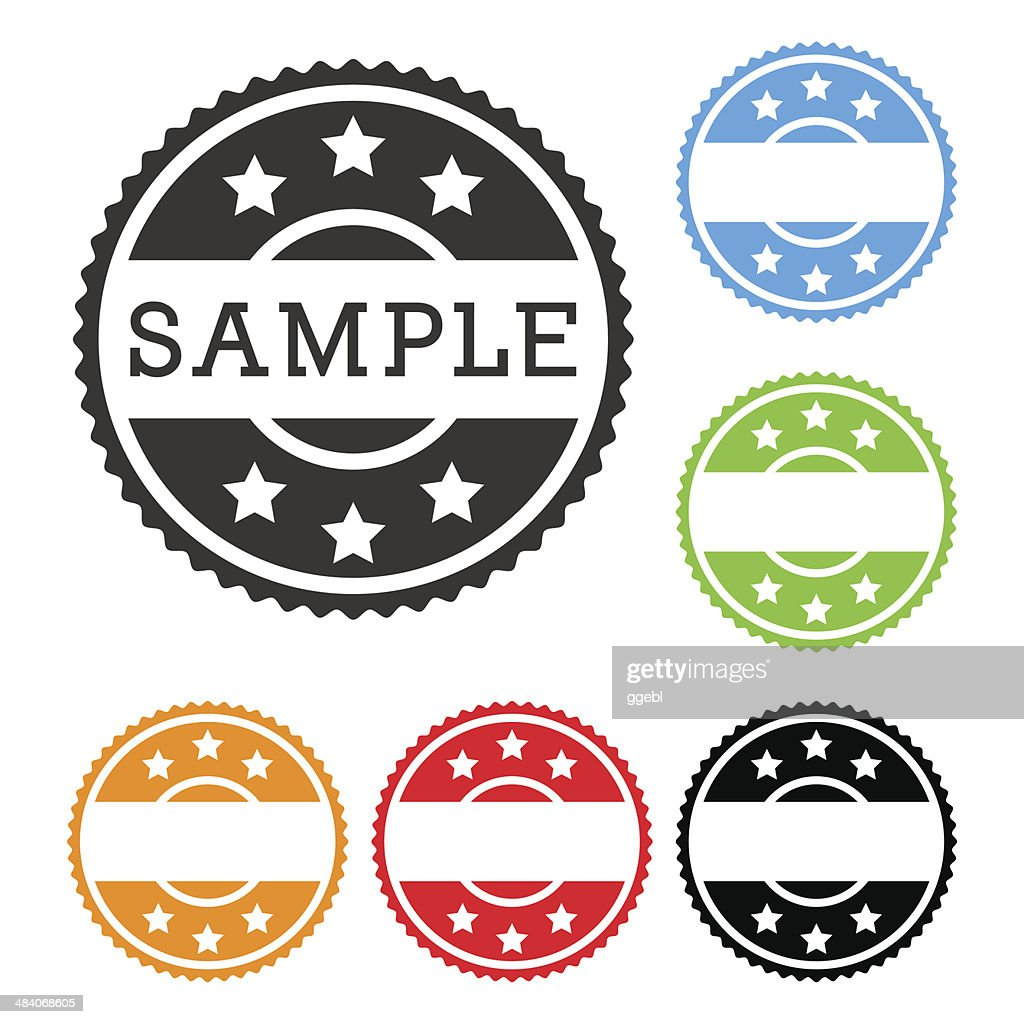 Vector stamp set