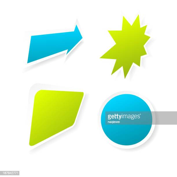 vector sticker for design - thanks quotes stock illustrations