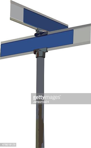 Vektor-Street-Schild