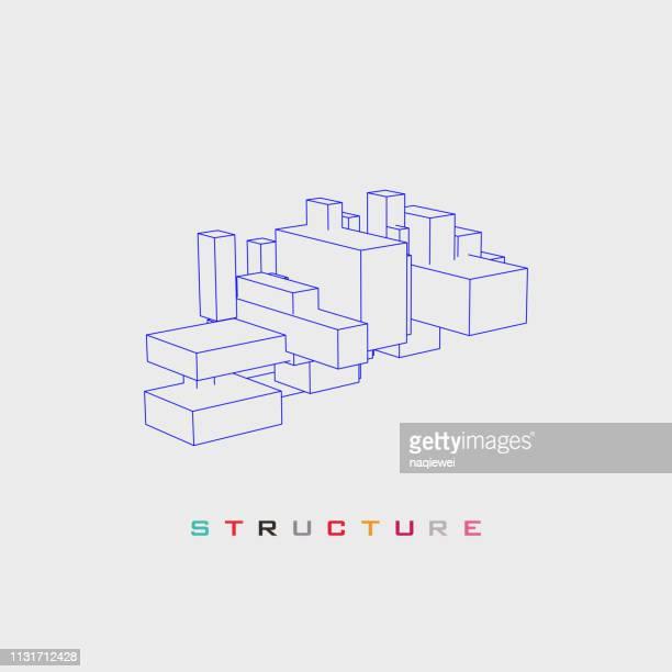 vektorstruktur muster - aktmodel stock-grafiken, -clipart, -cartoons und -symbole