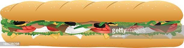 Vector Sub Sandwich