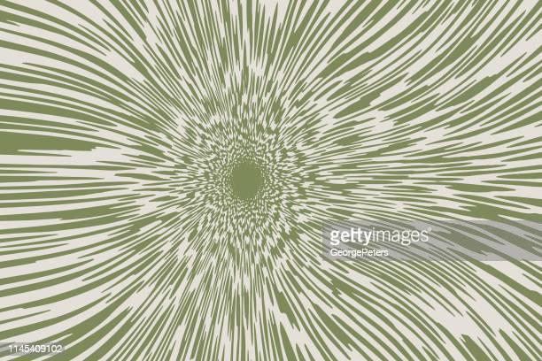 光線を持つベクトルサンバースト - カーキグリーン点のイラスト素材/クリップアート素材/マンガ素材/アイコン素材