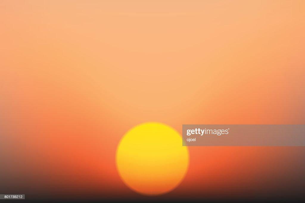 vector sunrise