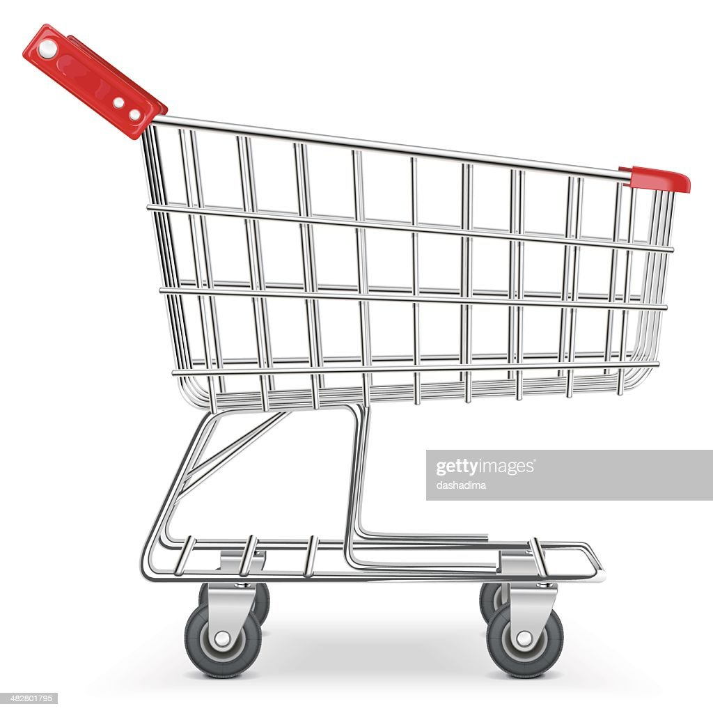 Vector Supermarket Cart