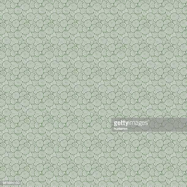 Vektor Wirbel Muster (chinesische verheißungsvollen Wolken) Hintergrund strukturiert