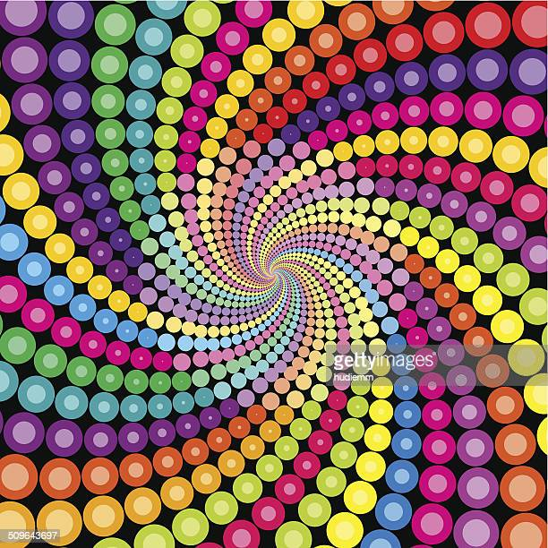 Vector swirl pattern background