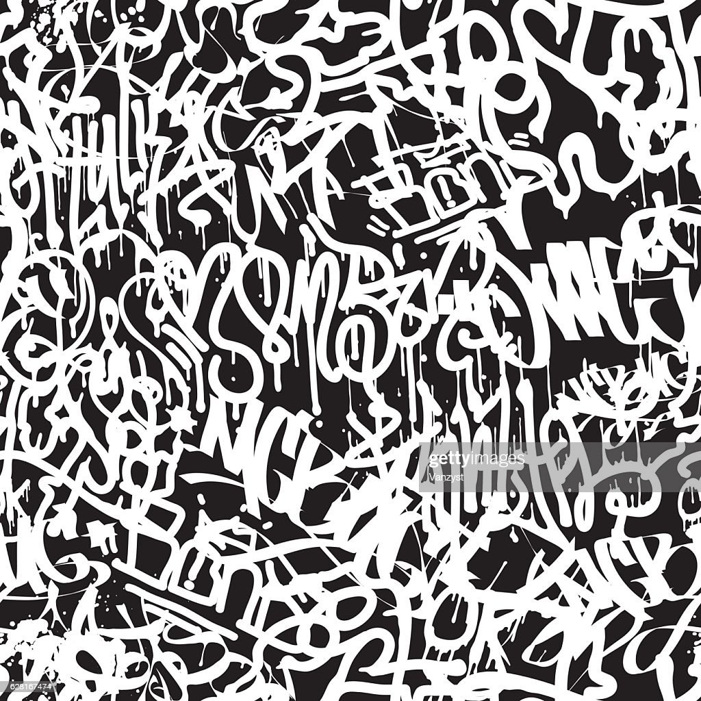 Vector tags seamless pattern