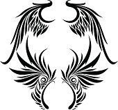 Vector Tatto Wings