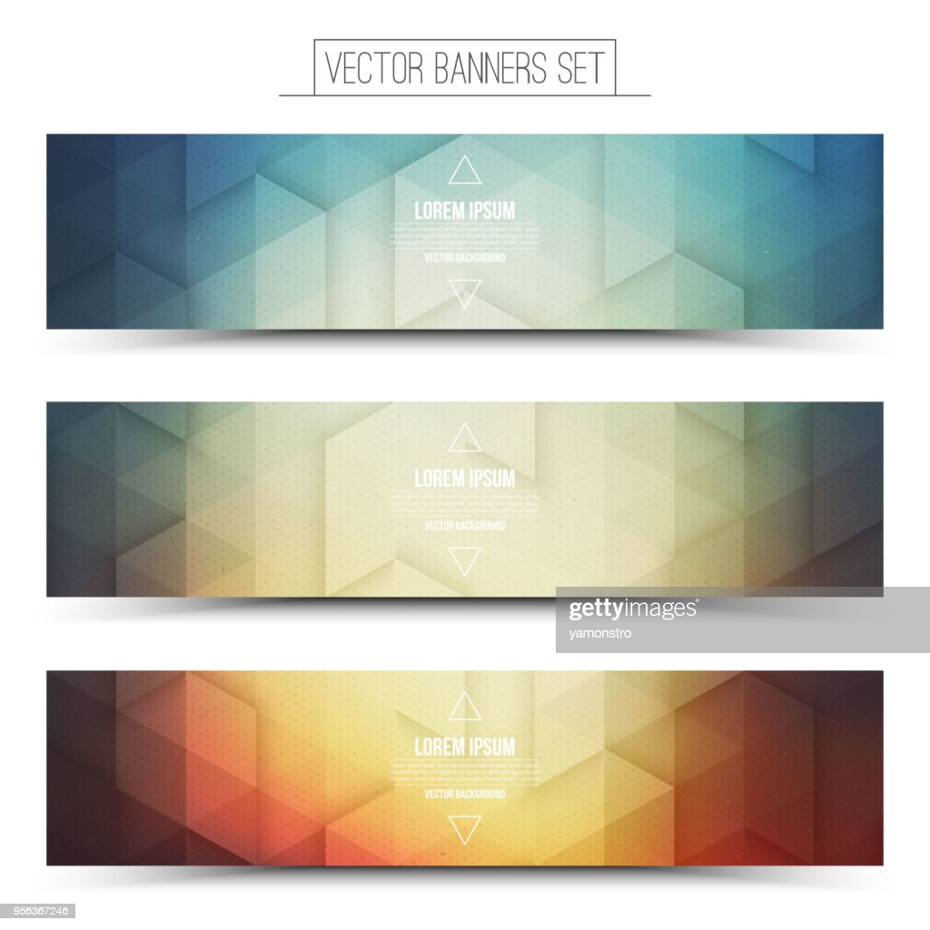 Vector Technology Web Banners