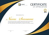 Vector template for certificate