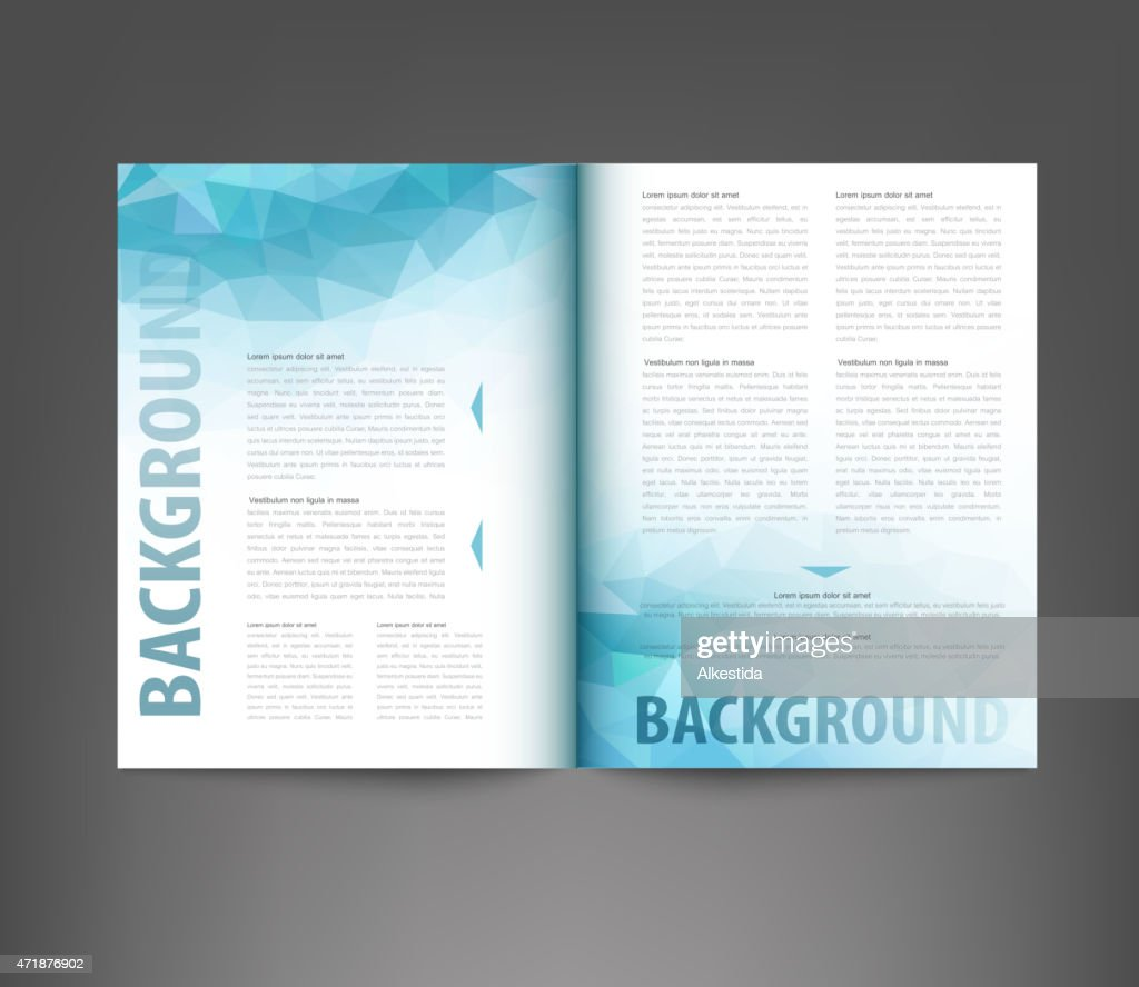 vector template print edition of the journal