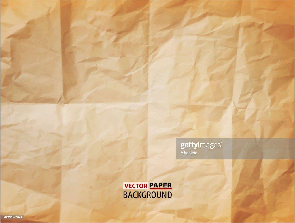 vector texture (element for design) - crumpled paper