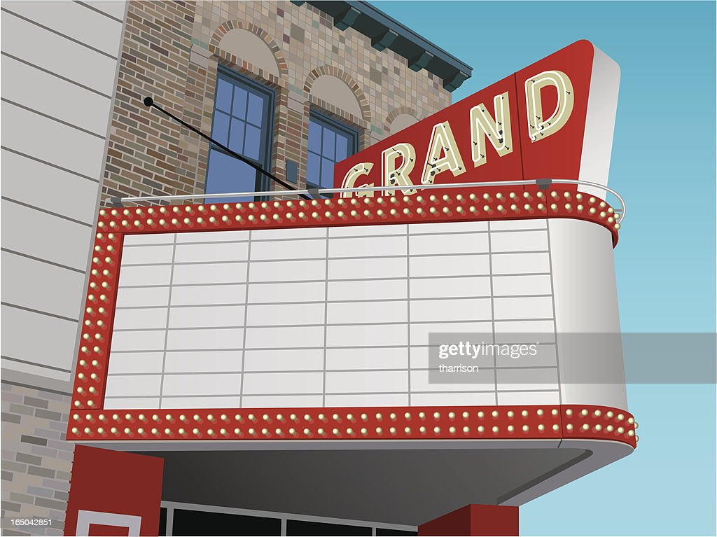 Vector Theater Marquee