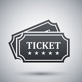 Vector tickets icon