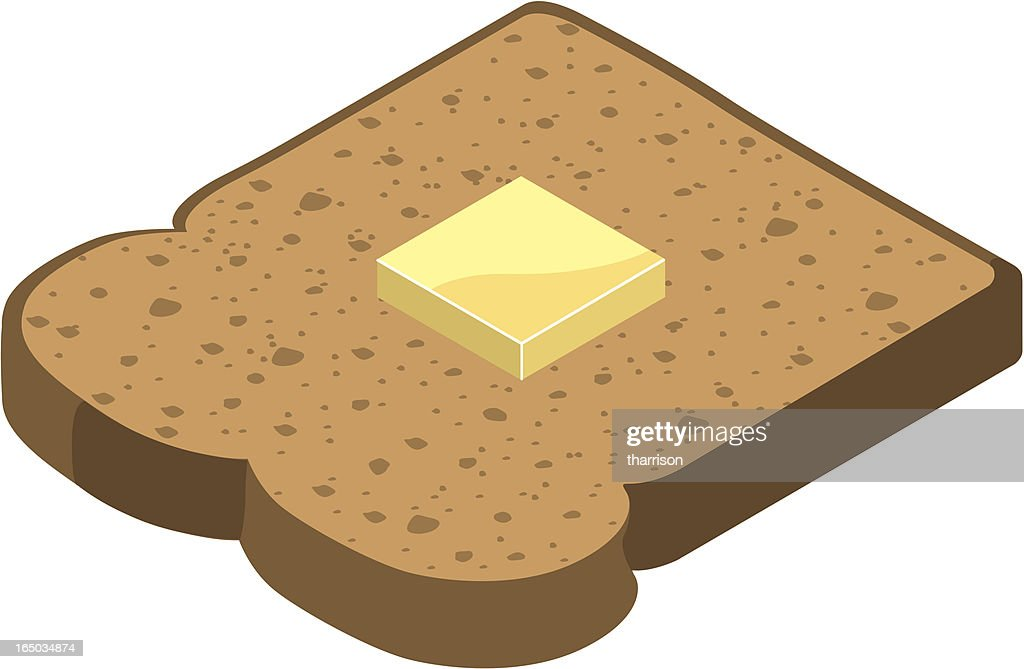 Vector Toast : stock illustration