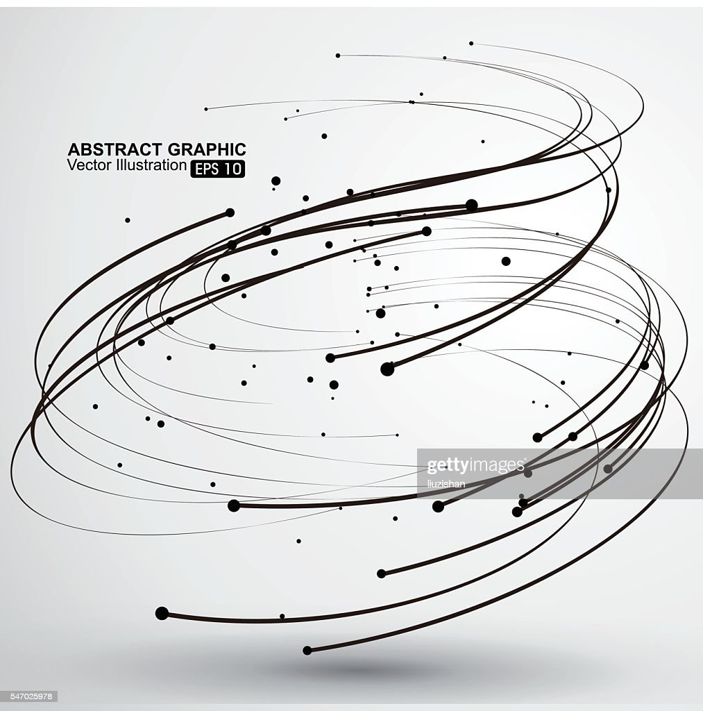 Vector Tornado,Abstract graphics.