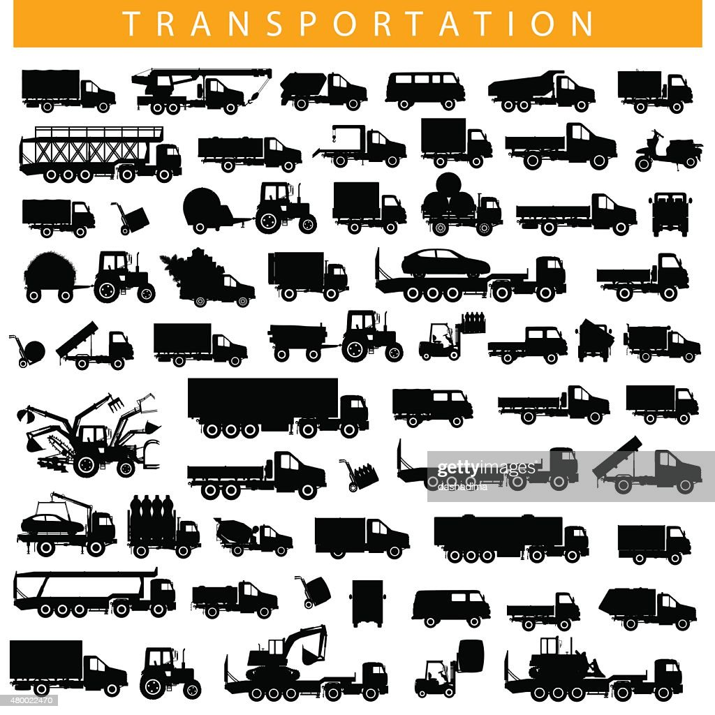 Vector Transportation Pictogram
