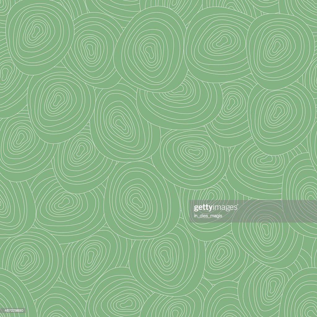 Vector tree rings seamless background