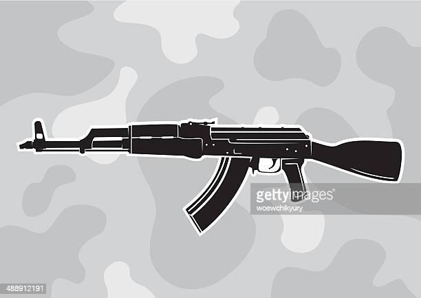 AK - 47 vector