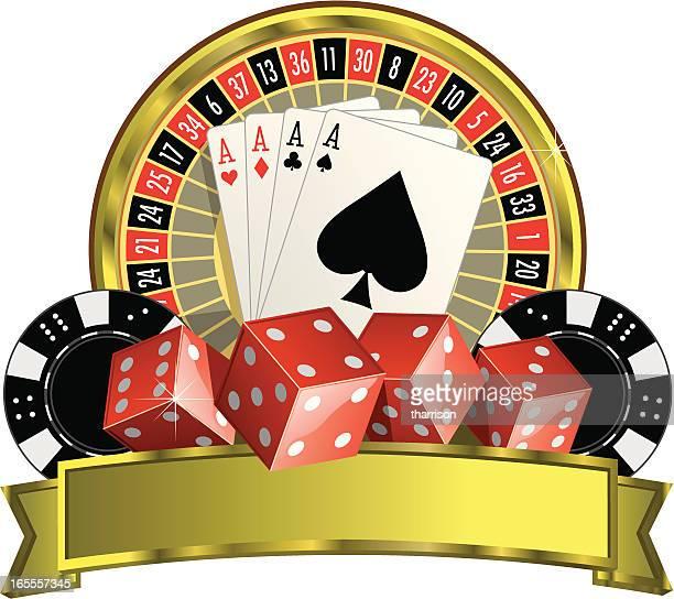 Vector Vegas Casino Logo