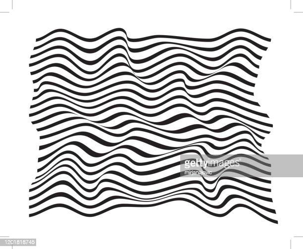vector waves pattern - twisted stock illustrations