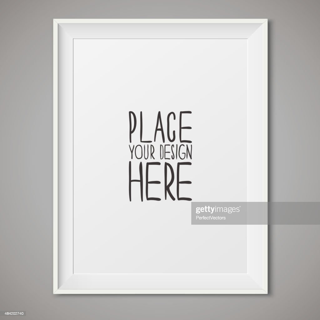 Vector White Frame for your designs