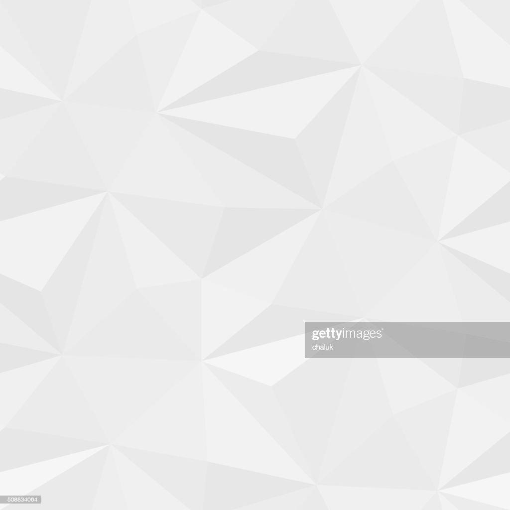 Vector white geometric pattern background