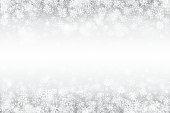 Vector Winter Swirling Snow Effect