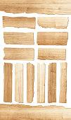 Vector wood plank
