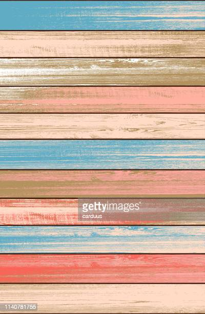 vector wood planking  textured  background - floorboard stock illustrations, clip art, cartoons, & icons