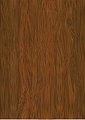 Vector wooden texture, dark wood