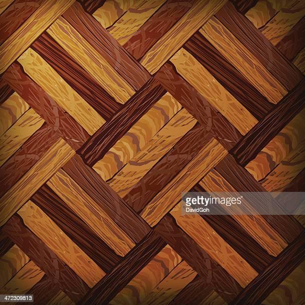 Vector Wooden Texture, Tilable