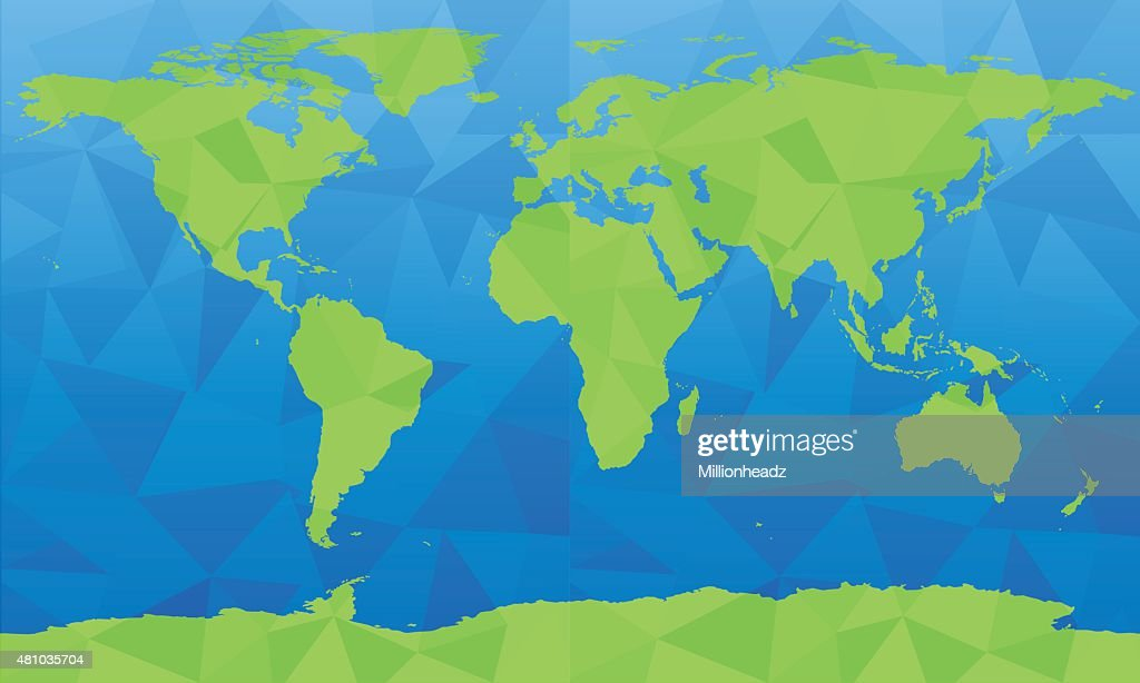 Vector world map large size vector art getty images vector world map large size vector art gumiabroncs Choice Image