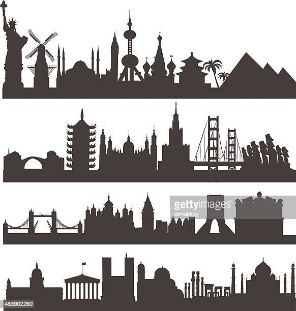 vector world - jordan middle east stock illustrations, clip art, cartoons, & icons