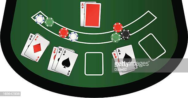 Vegas Blackjack Table