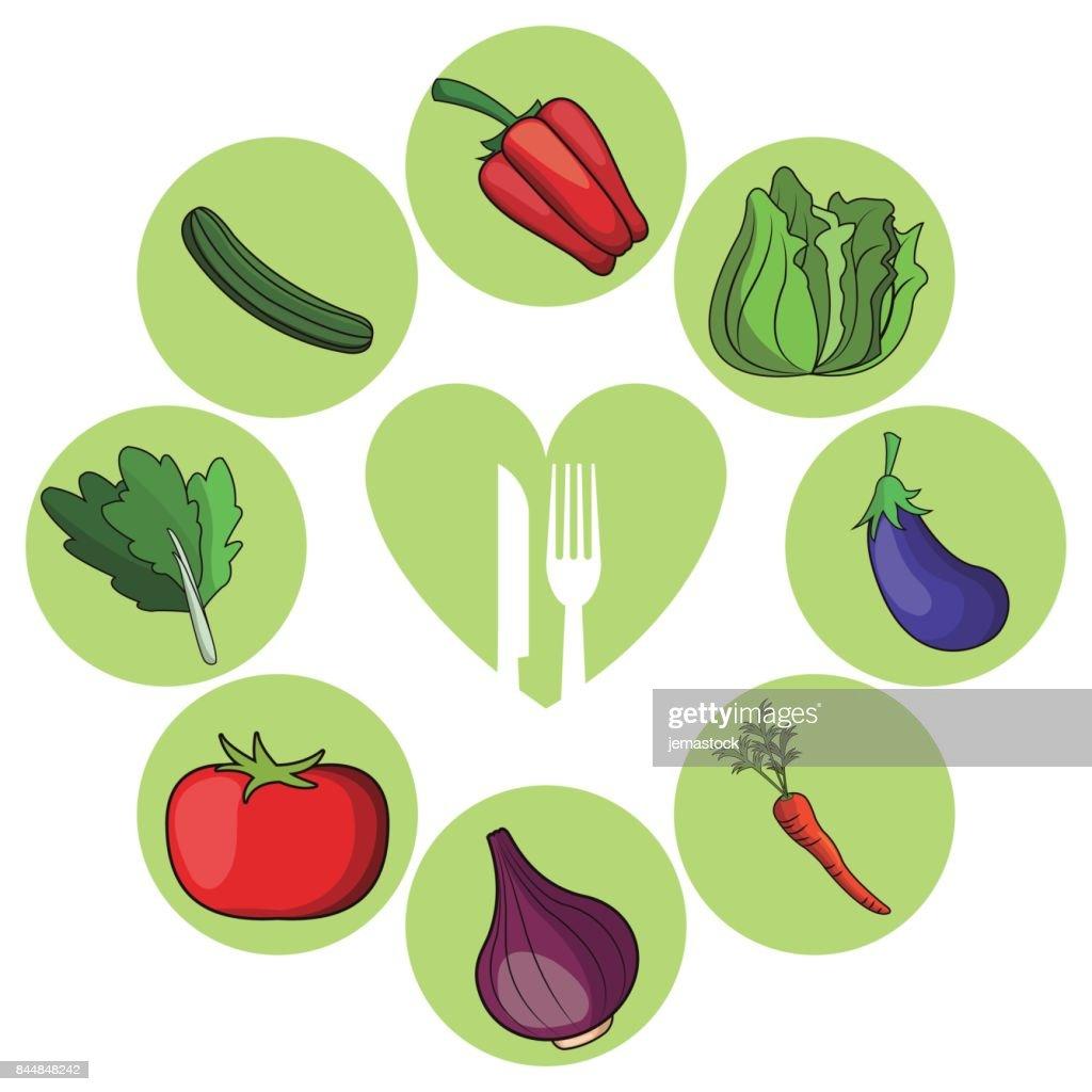vegetables healthy food ingredient