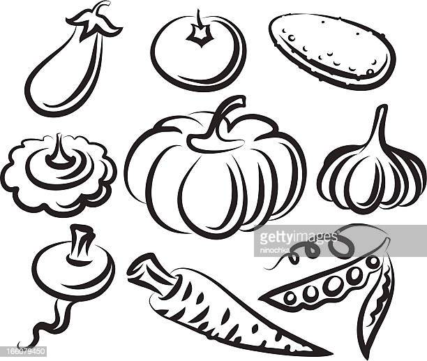 vegetables - food state stock illustrations, clip art, cartoons, & icons