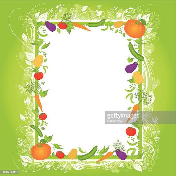 vegetarian menu - marrom stock illustrations