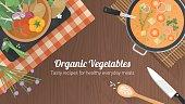Vegetarian recipes banner