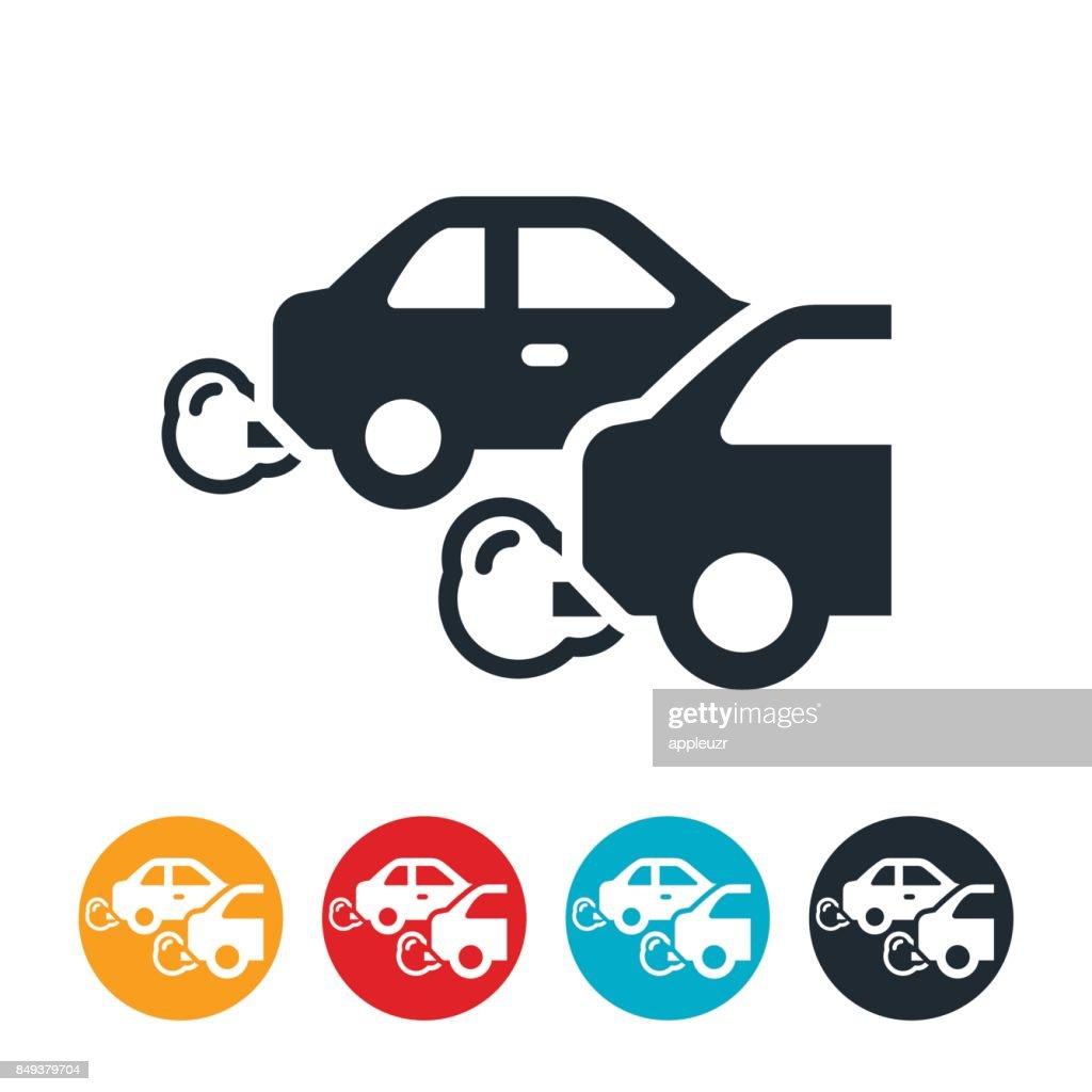 Vehicle Emissions Icon : stock illustration