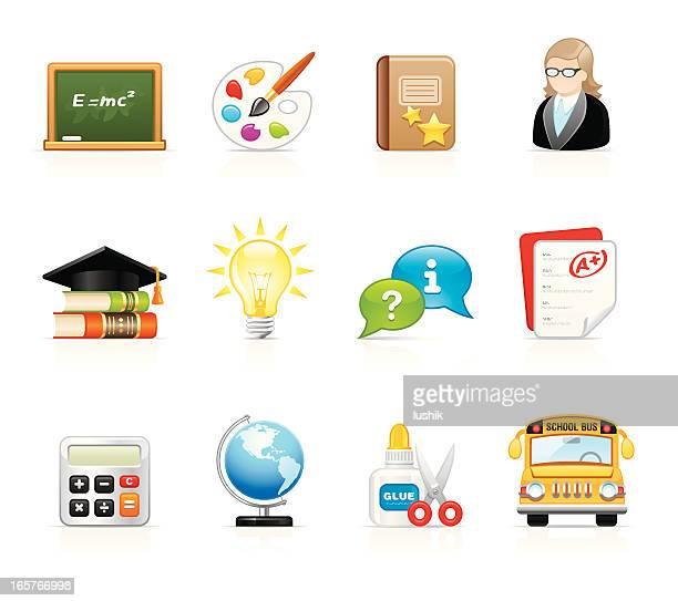 Velvet Icons - Education and School