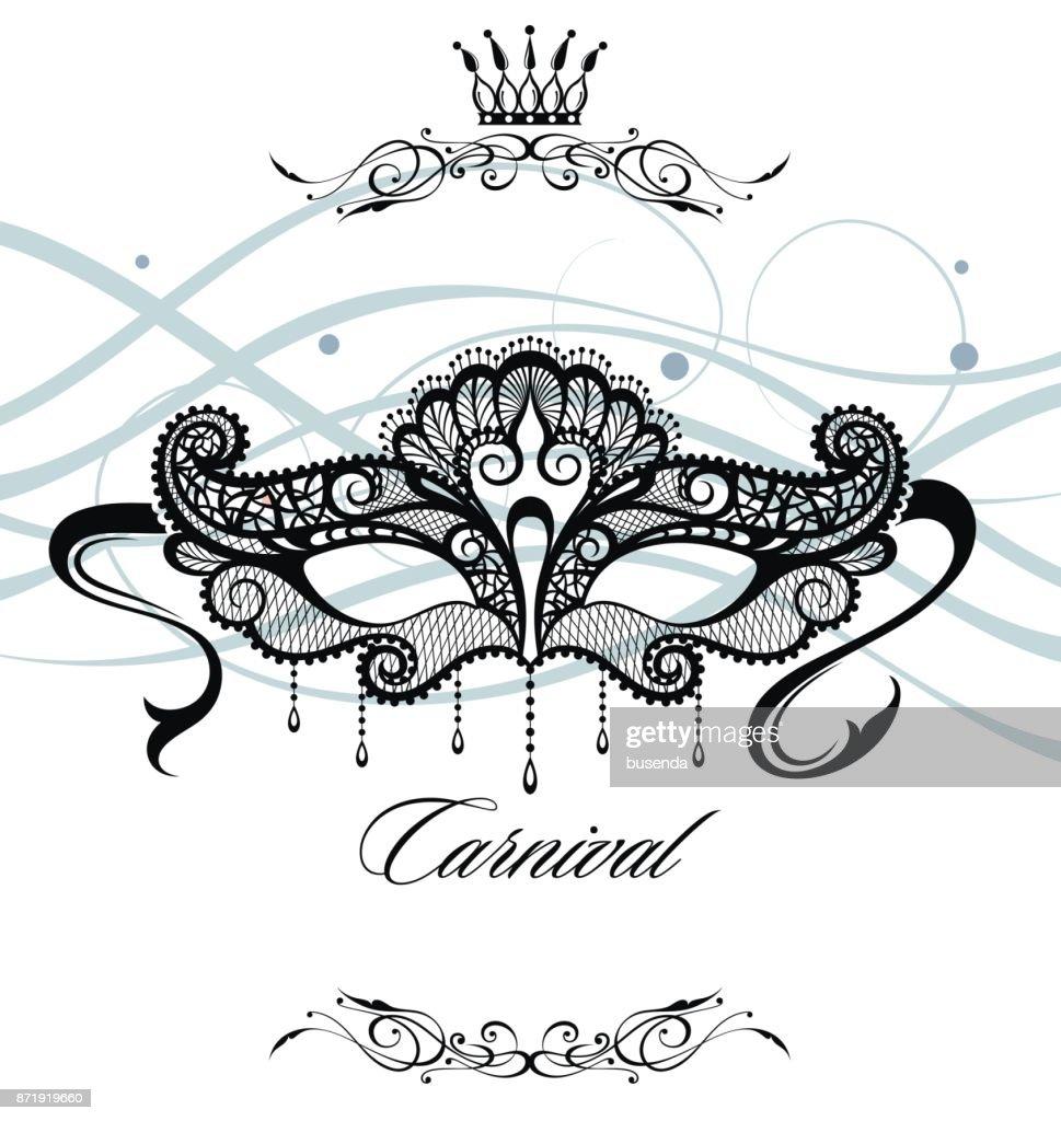 Venetian carnival logo