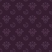 Venetian masks pattern